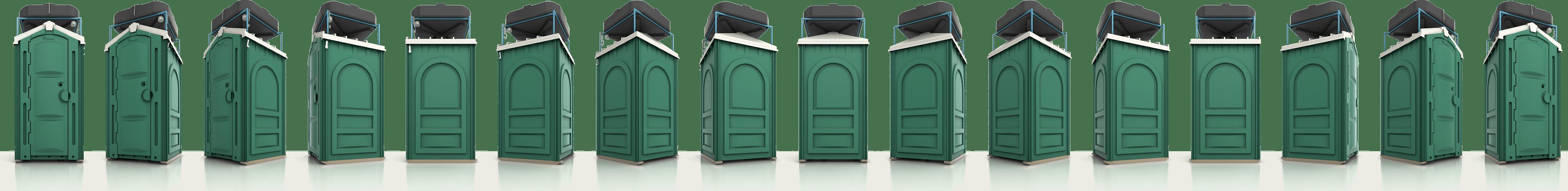 Туалетные кабины Люкс
